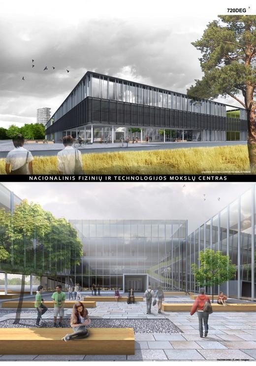 Nacionalinio fizinių ir technologijos moklsų centro konkursas architektų sąjunga