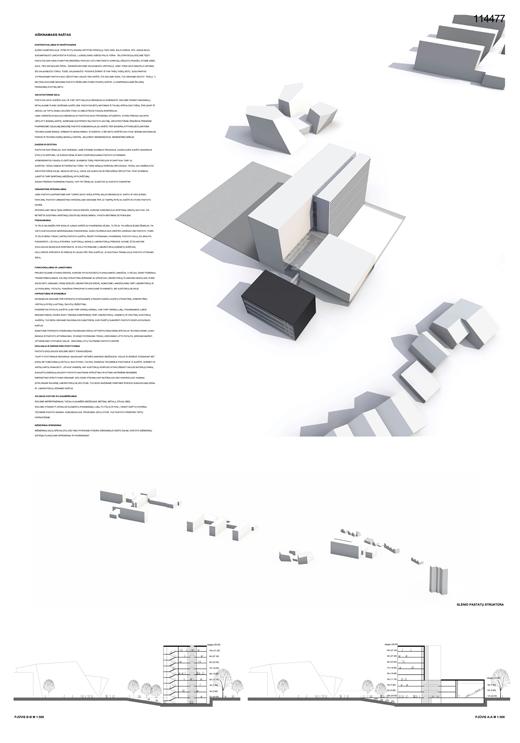 Gyvybes Mokslu Centras 114477 LAS architektura konkursas