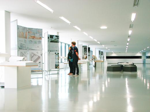 modernaus meno centro architketurinis konkursas Lietuvos architketu sajunga ekspozicija nacionalineje dailes galerijoje