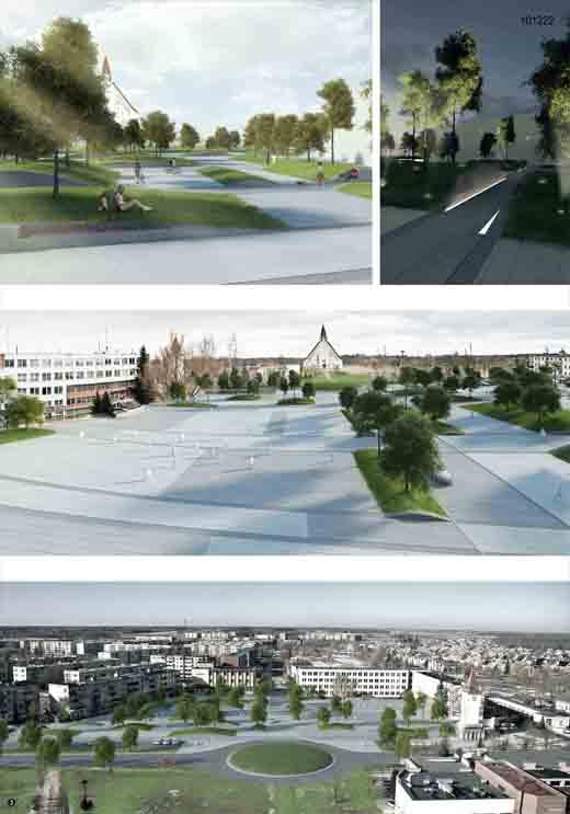 Akmenės centrinės aikštės rekonstrukcijos projekto konkursas