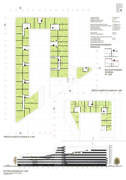 Daugeliskio konkursas architektura
