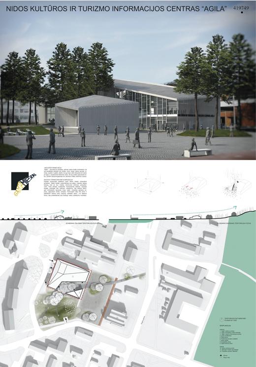 """Kultūros ir turizmo informacijos centro """"Agila"""" Palangoje koncepcijos konkursas"""