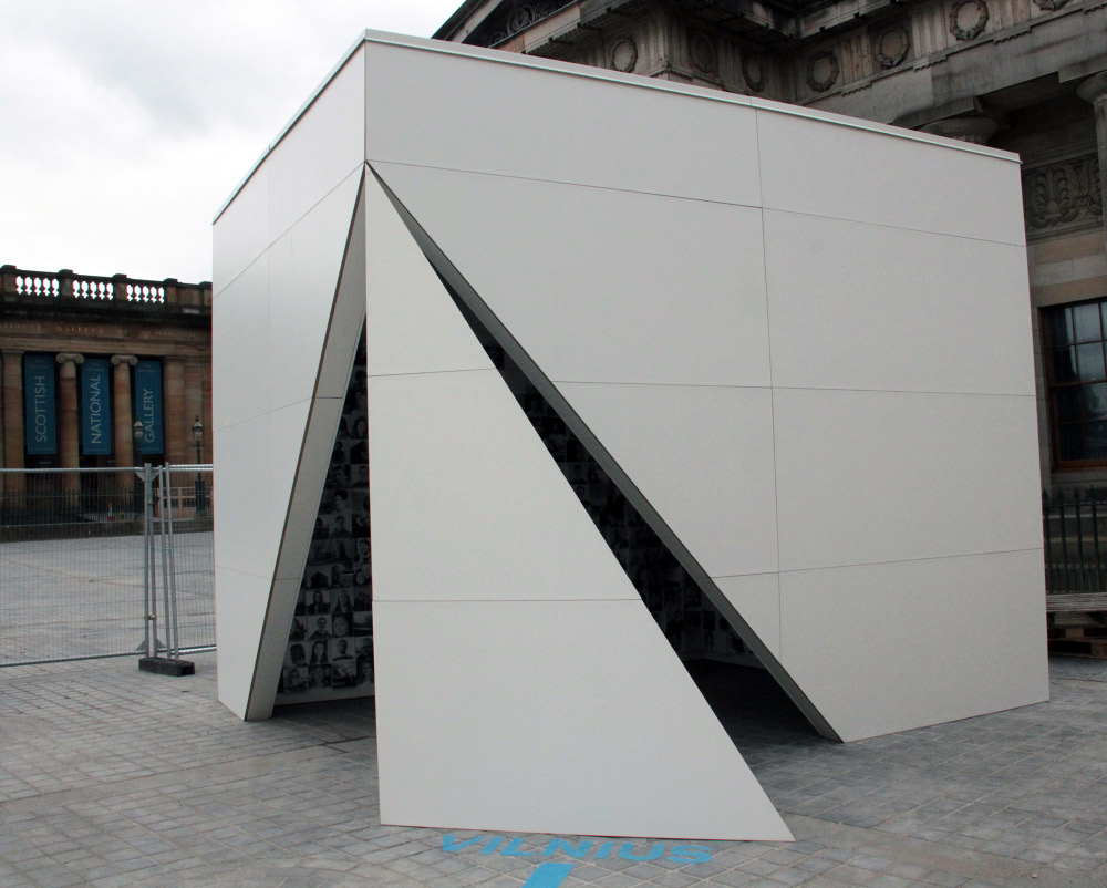 Vilniaus paviljono architektūros festivalyje Edinburge (Škotija) idėjos konkurso nugalėtojai