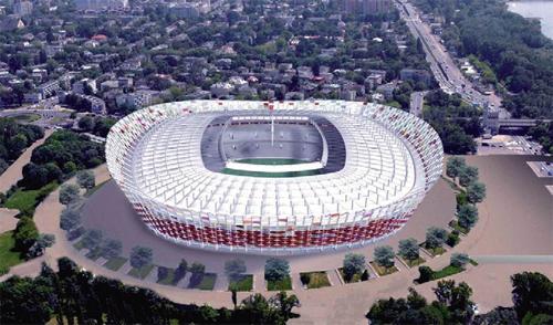 Naujos arenos UEFA čempionatui 2012 m.